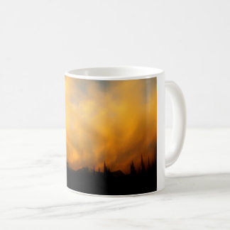 Fiery clouds coffee mug