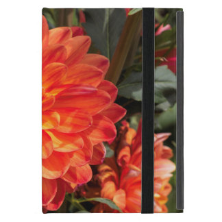 Fiery Dahlia Cover For iPad Mini