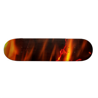 Fiery Flame skateboard skate deck design art