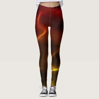 Fiery Flames Leggings