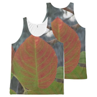 Fiery Leaf All-Over-Print Tank Top