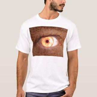 Fiery Mutant Eye Mouse Pad T-Shirt