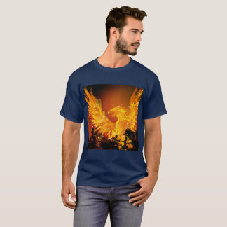 Fiery Phoenix design ( no P) T-Shirt