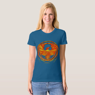 Fiery Phoenix Ladies Organic T-Shirt