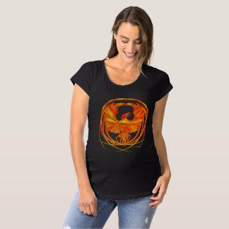 Fiery Phoenix Maternity T-Shirt