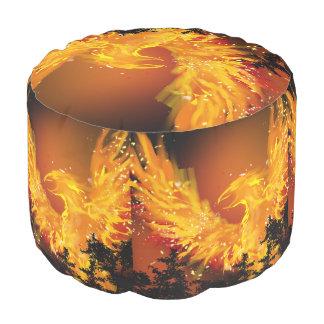 Fiery Phoenix. Pouf