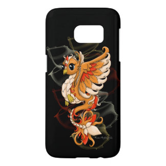 Fiery Phoenix Samsung Phone Case