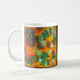 Fiery Quetzalcoatl Coffee Mug