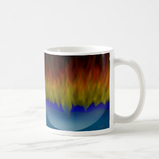 Fiery reflections mug