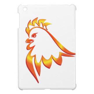 Fiery Rooster Case For The iPad Mini