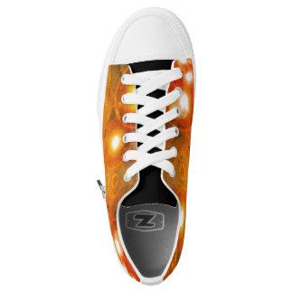 Fiery Star Universe Zipper Shoes
