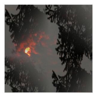 Fiery Sun... Poster