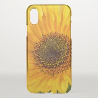 Fiery Sunflower iPhone X Case