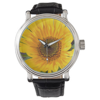 Fiery Sunflower Watch