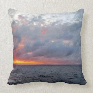 Fiery Sunset Pillow
