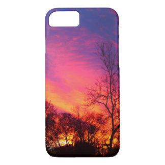 Fiery Sunset Sky Case