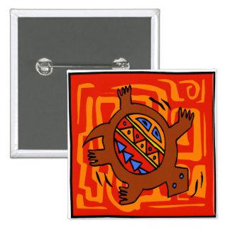 Fiery-Torto 2 Inch Square Button