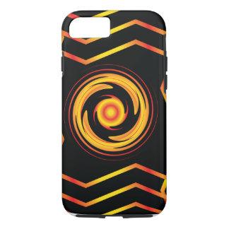 Fiery vortex iPhone 7 case