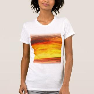 Fiery white t-shirt