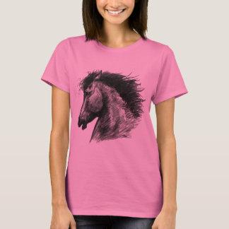 Fiery Wild Horse T-Shirt