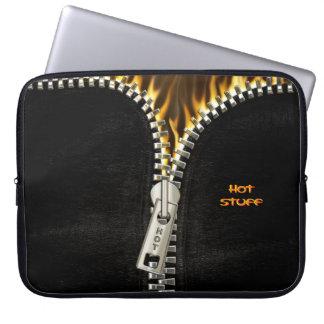 Fiery Zipper Laptop Sleeve