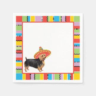 Fiesta Australian Terrier Paper Napkin