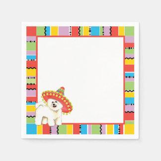 Fiesta Bichon Paper Napkins