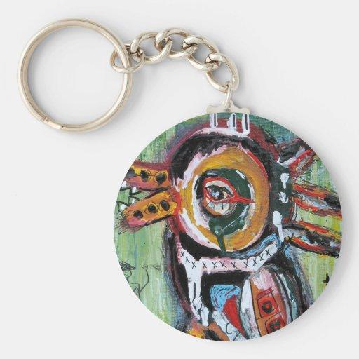 Fiesta Bird Keychains