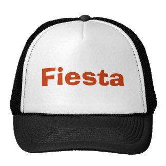 Fiesta - Black, white and burnt orange Trucker Hat
