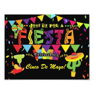 Fiesta Cinco De Mayo Celebration Party Invitation