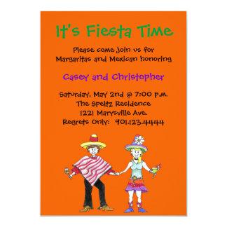 Fiesta Couple Shower Invitations