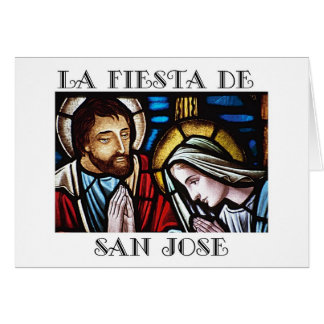 Fiesta de San Jose- Feast of St. Joseph Card