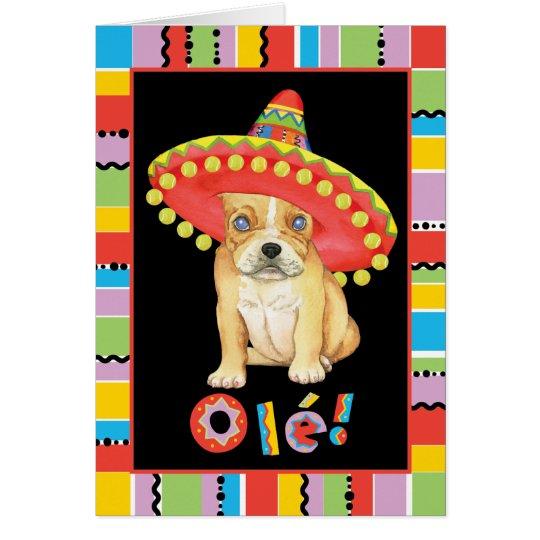 Fiesta Frenchie Card