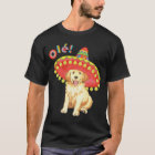 Fiesta Golden Retriever T-Shirt