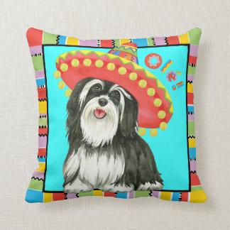 Fiesta hav throw pillow