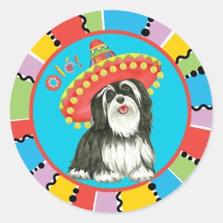 Fiesta Havanese Round Sticker