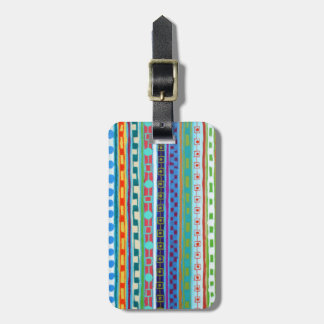 Fiesta Luggage Tag