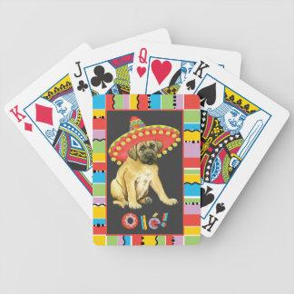 Fiesta Mastiff Bicycle Playing Cards