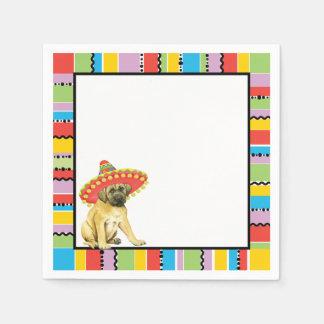 Fiesta Mastiff Paper Napkins