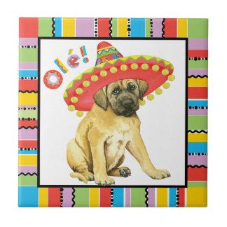 Fiesta Mastiff Tile