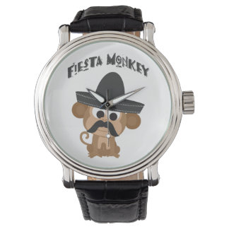 Fiesta Monkey Wristwatches