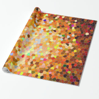 Fiesta mosaic wrapping paper