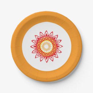 Fiesta Paper Plates