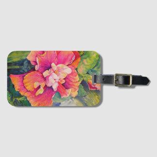 Fiesta Petals Luggage Tag