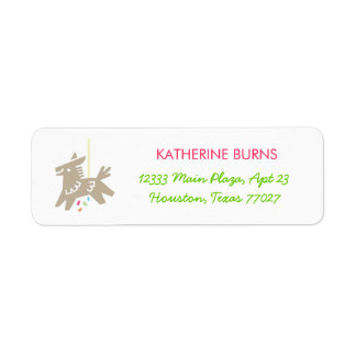 Fiesta Piñata - Festive Address Labels