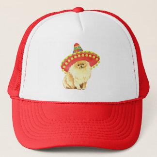 Fiesta Pomeranian Trucker Hat