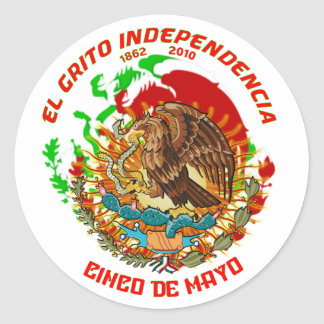 Fiesta-Product-Match-Cinco-de-Mayo-Set-1 Classic Round Sticker