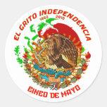 Fiesta-Product-Match-Cinco-de-Mayo-Set-1 Round Sticker