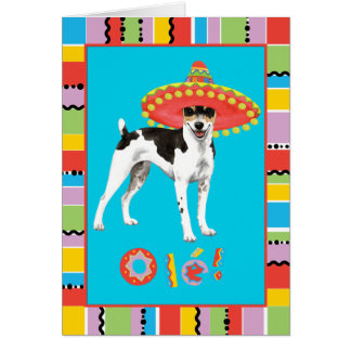 Fiesta Rat Terrier Card