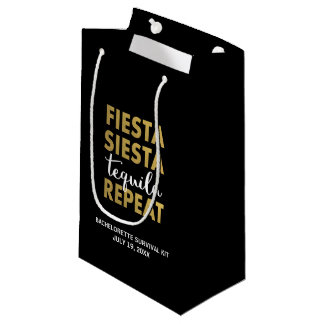 Fiesta Siesta Tequila Repeat Survival Kit Bag